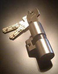 Cylindre avec ses clés