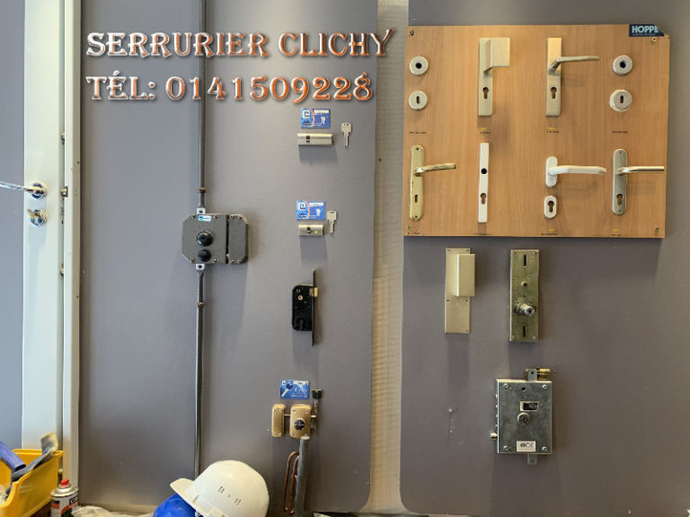 Urgence serrurier Clichy pas cher